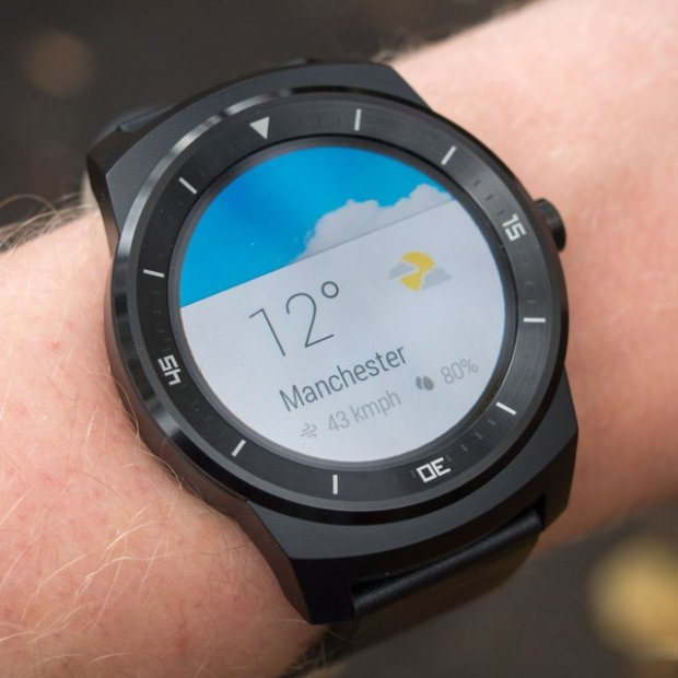 Android Wear Circle Smartwatch by LG