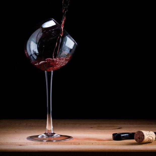 Tipsy Wine Tasting Glass