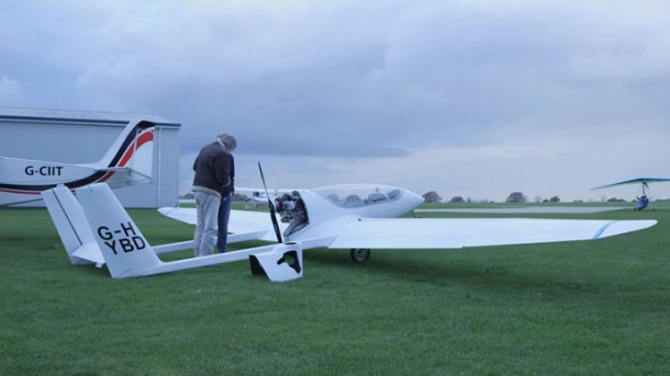 World's First Hybrid Airplane