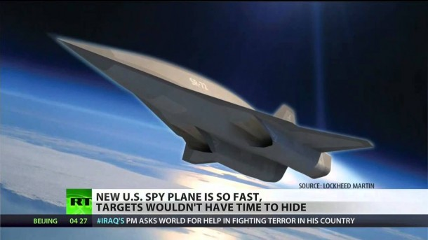 Lockheed SR-72 Hypersonic Spy drone