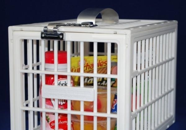 Fridge Locker Keeps the Freeloaders At Bay