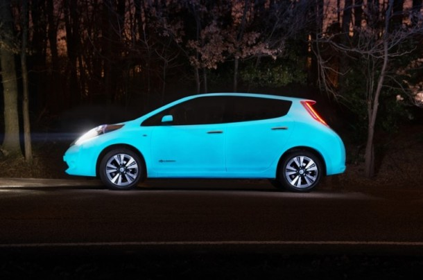 Nissan Got a Glow In The Dark Color Now!