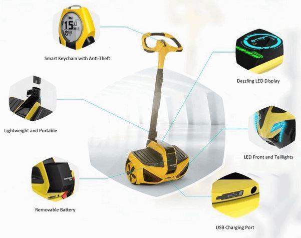Self Balancing Electric Sensor Controlled Vehicle 54 (1)