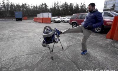 Spot: New Robot From Boston Dynamics (Video)