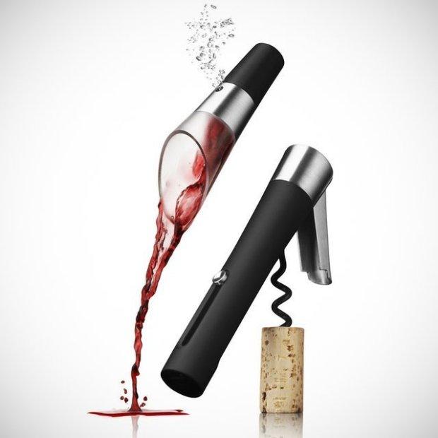 Waiter's Corkscrew & Decanting Pourer