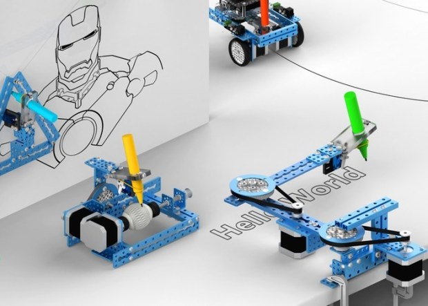 mDrawBot 4-in-1 Arduino Drawing Robot