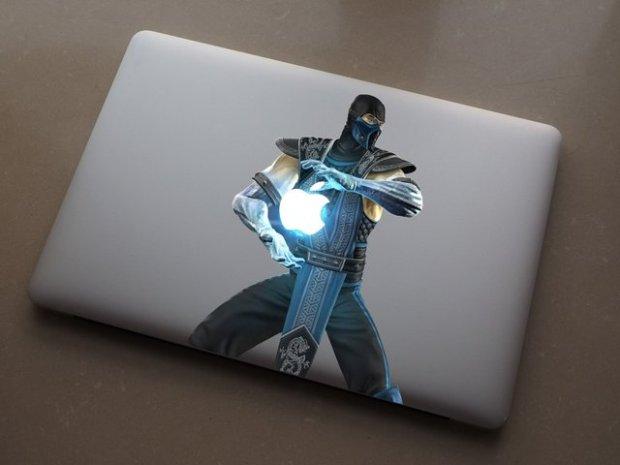 Sub Zero MacBook Decal