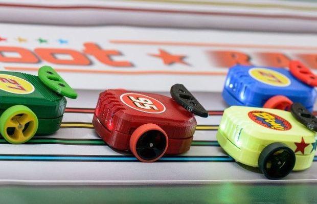 Educational 3D Printable Cannybot Racers