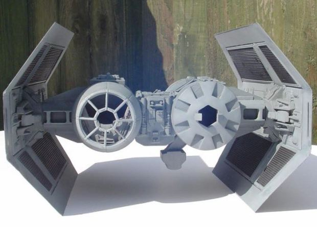 3D Printed Star Wars TIE Bomber