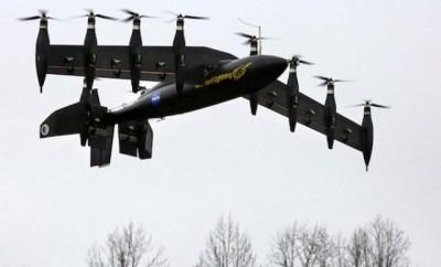 NASA's 10-Engine Aircraft