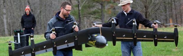 Ten-Engine Electric Plane Prototype Takes Off