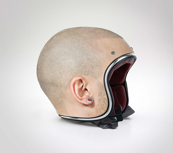 Helmet's That Look Like Real Human Heads