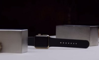 Gold Apple Watch Edition Crushed by Magnets