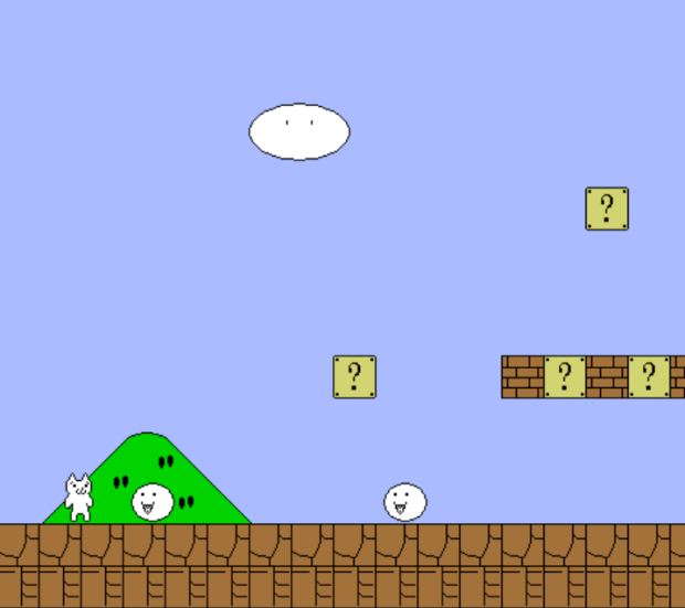 Cat Mario: a Mario Game With a Cat!
