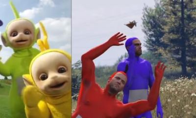 Teletubbies Intro Recreated In GTA 5 Is The Hilarious Thing