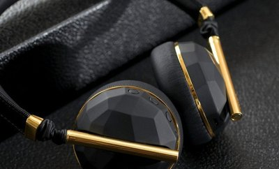 Caeden Linea N°10 Wireless Headphone - Faceted Carbon & Gold