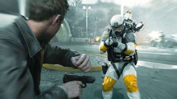 Quantum Break 'The Cemetery'