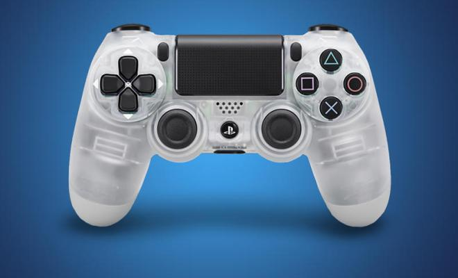 Transparent PS4 Controllers
