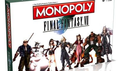 Official Final Fantasy VII Monopoly Board