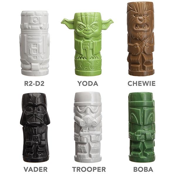 Star Wars Ceramic Tiki Mugs