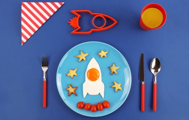 Space Egg Molds