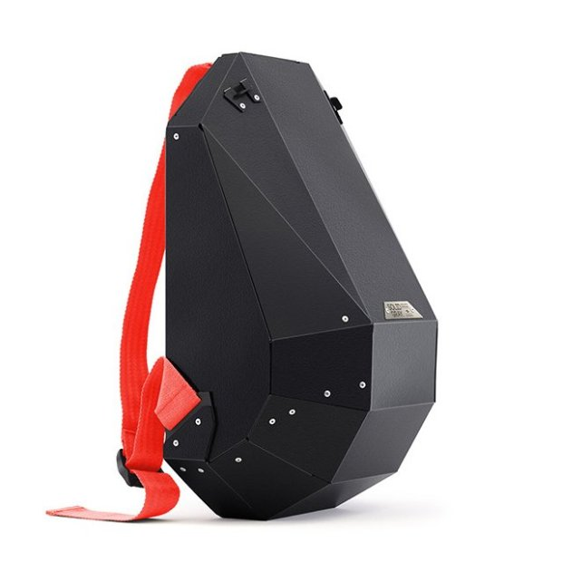 Matte Black Backpack by Solid Gray