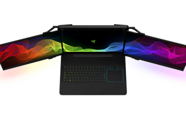 Razer's Gaming Laptop With 3 Fold-Out Screens