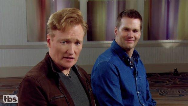 Tom Brady And Conan O' Brien