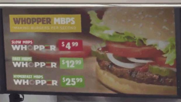 Burger King Explains Net Neutrality