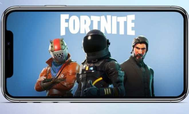 Fortnite Battle Royale Smartphone Edition