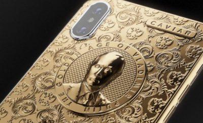 Golden iPhone X