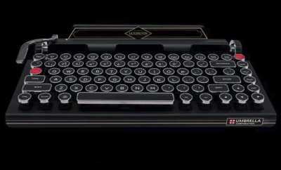 Resident Evil 2 Remake Keyboard