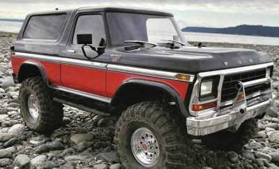 Remote Controlled Bronco Trucks