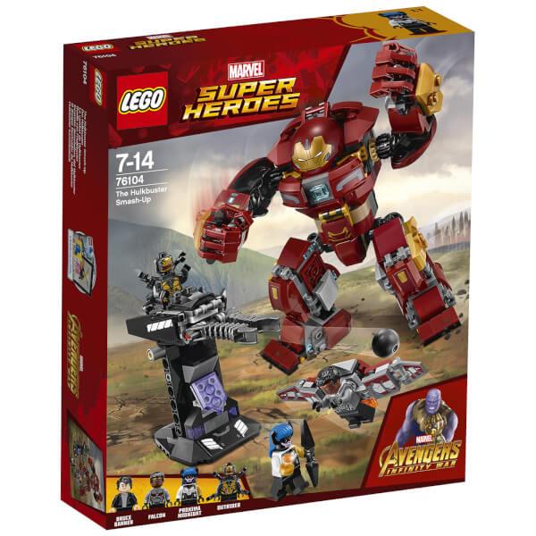 76104 Super Heroes The Hulkbuster Smash-Up