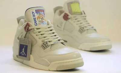 Game Boy-Themed Jordans