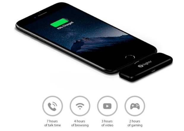 Lightr Portable Smartphone Battery