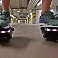 Incredible Showerboard Hovershoes Hit Kickstarter