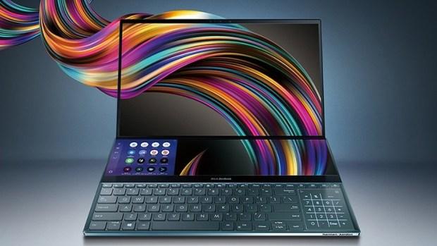 Asus New Dual-Screen Laptop