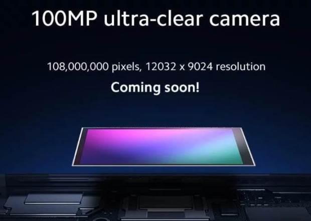 Xiaomi 100 Megapixel Smartphone Camera
