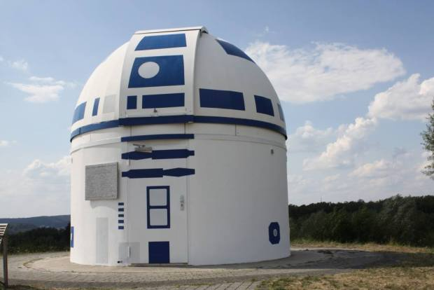 German Observatory is Turned Into a Huge R2-D2