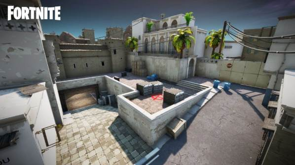 Counter-Strike's Dust 2 Map
