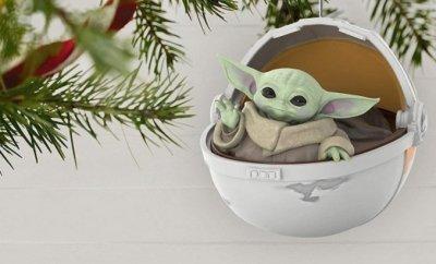MANDALORIAN Baby Yoda Ornament