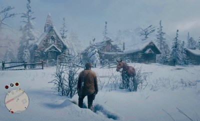 Red Dead Redemption 2 Snow
