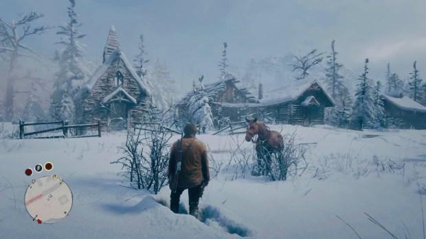 Red Dead Redemption 2 Snow