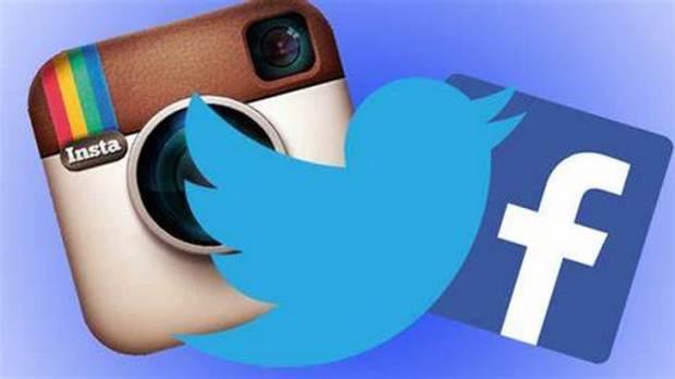 facebook twitter and instagram