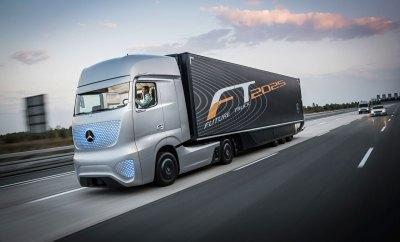 mercedes autonomous truck concept