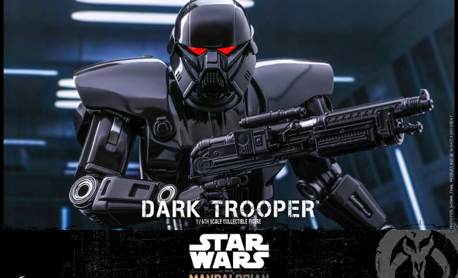 Hot Toys THE MANDALORIAN Dark Trooper Action Figure