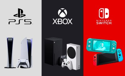 Xbox, PlayStation, and Nintendo Switch