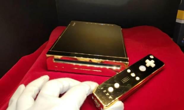 Queen Elizabeth II's Golden Wii