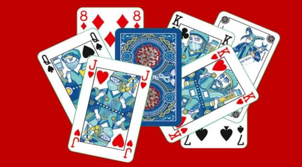 Marked Playing Card